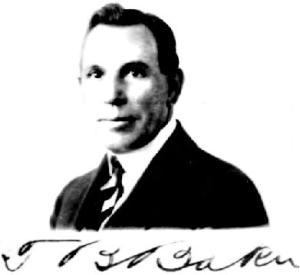 T.B. Baker (c.1910  ~35 years old)