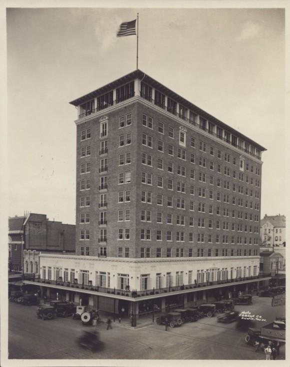 Stephen F. Austin Baker Hotel in Austin, Texas (1924)